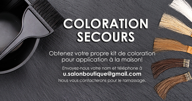U Coloration secours