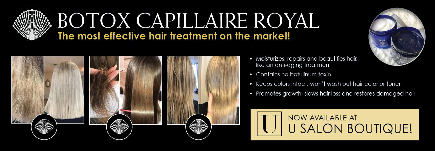 Hair botox U Salon Boutique